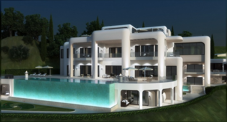The development of real estate projects for every taste! From simple to luxury! Dream House on the sunny coast of Spain!